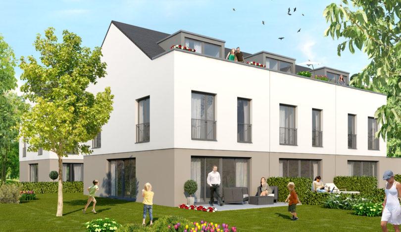 ES Wohnungsbaugesellschaft - Ober-Erlenbach - Außenansicht