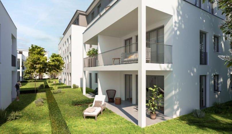 ES Wohnungsbaugesellschaft - Am Eschenbrunnen Außenansicht 3