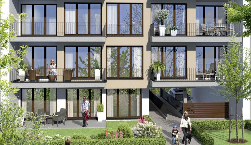 ES Wohnungsbaugesellschaft - Biebricher Stadtgarten - Außenansicht 2