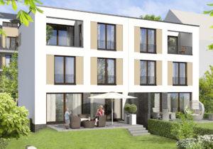 ES Wohnungsbaugesellschaft - Biebricher Stadtgarten - Außenansicht