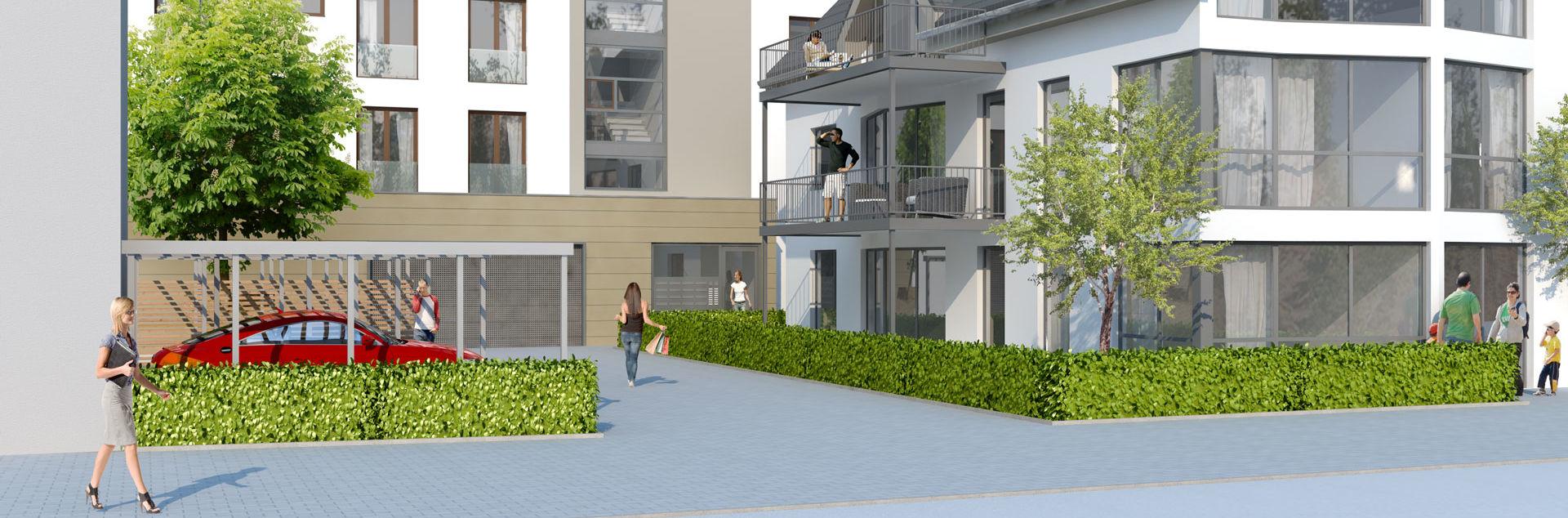 ES Wohnungsbaugesellschaft - Eschborn 19 - Außenansicht