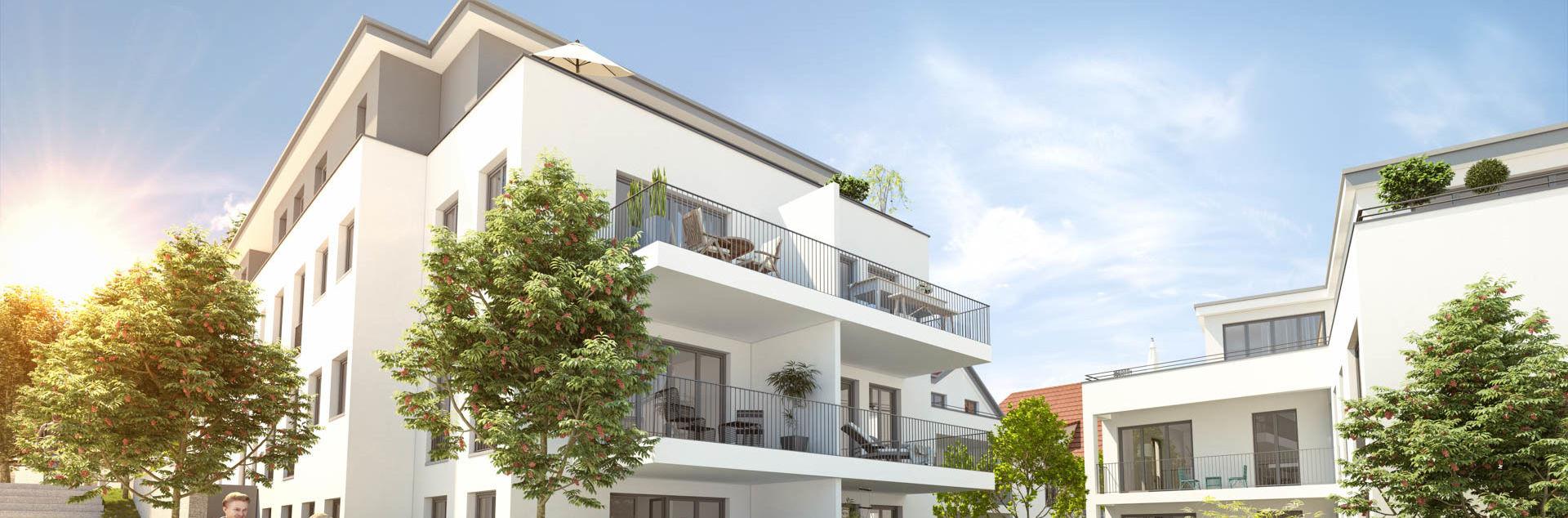 ES Wohnungsbaugesellschaft - Am Eschenbrunnen Außenansicht