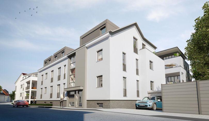 ES Wohnungsbaugesellschaft - Am Eschenbrunnen Außenansicht 2
