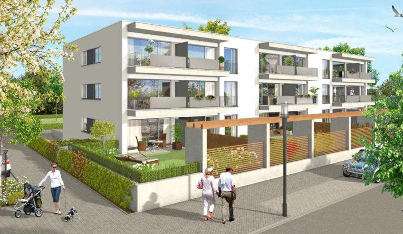 ES Wohnungsbaugesellschaft - Urban 18 - Außenansicht